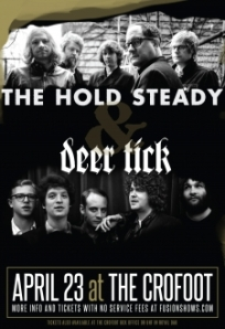 The guys in Deer Tick look like what the Hold Steady guys probably looked like in college ...