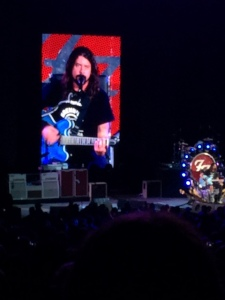 Dave Grohl and Dave Grohl