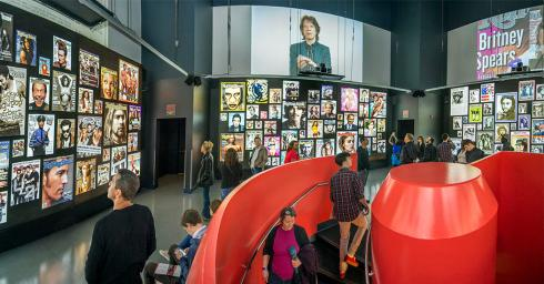 Rock and Roll Hall of Fame RS installation
